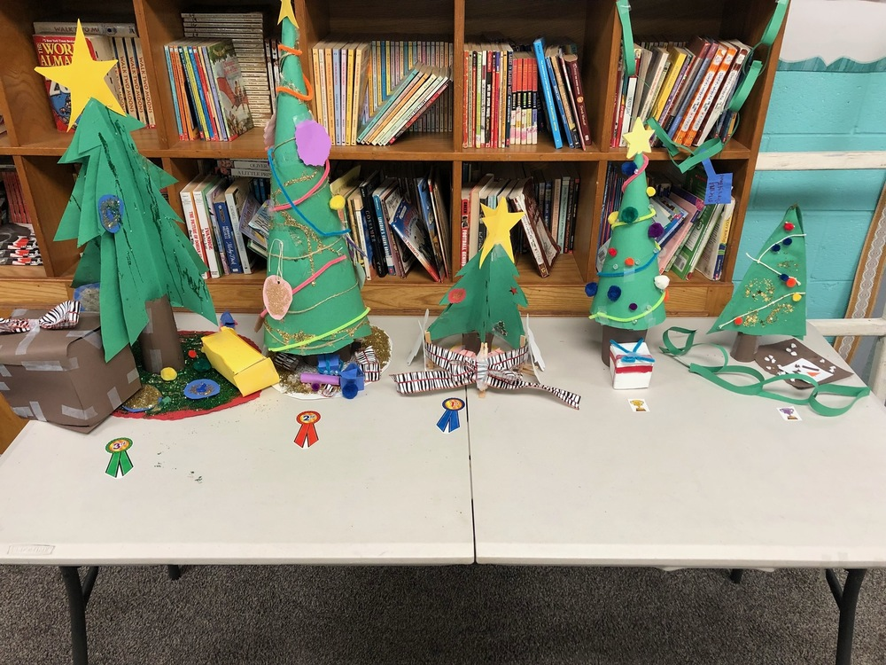 Mrs. Crozier's 5th Grade Christmas Tree Contest