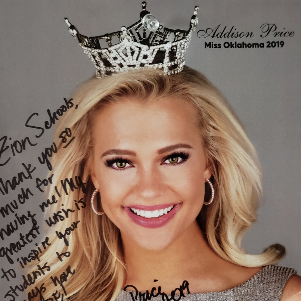 Miss Oklahoma - Miss Addison Price