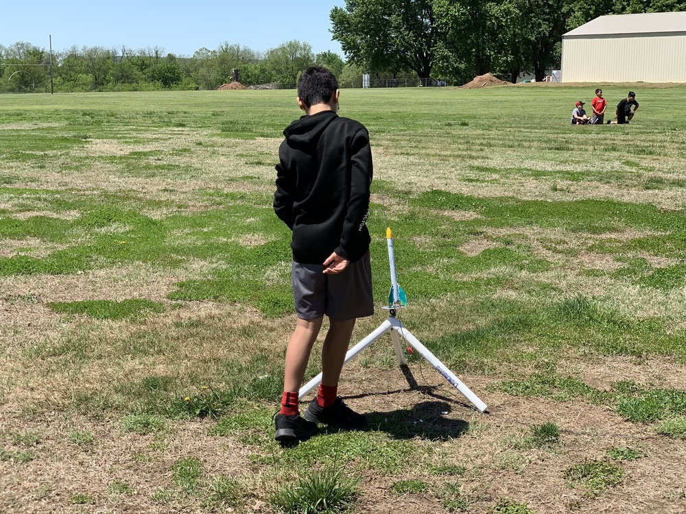 7th grade Rocket Launch