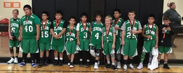 3rd/4th Woodall Basketball Tournament Runner-up