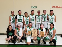 Lady Jets Win Zion Tournament!!