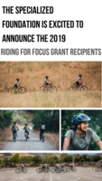 2019 Riding for Focus Grant