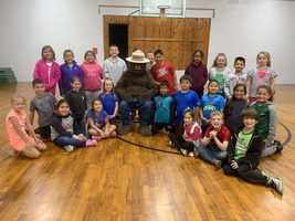 Students Enjoy Smokey Bear