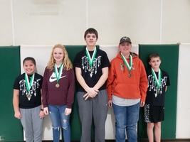Zion Archery Meet Winners - January 7